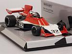 Tyrrell 007 Ford 1975 Ian Scheckter  'Silver Line' Edition by MINICHAMPS