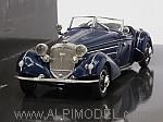 Horch 855 Special Roadster 1938 (Dark Blue) by MINICHAMPS