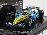 Renault R26 2006 World Champion Fernando Alonso 'World Champions Collection' by MINICHAMPS