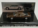 Lamborghini Urraco 1972 (Brown) Lamborghini Museum Series by MINICHAMPS