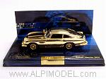 Aston Martin DB5 007 James Bond Gold Plated - Placcata Tipo Oro by MINICHAMPS
