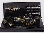 Lotus 72 Ford #6 1972 World Champion Emerson Fittipaldi 'World Champions Collection' by MIN