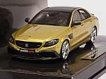 Brabus 600 (Mercedes AMG C63S) 2015 (Gold) by MINICHAMPS