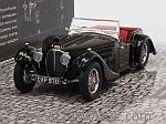 Bugatti Type 57SC Corsica Roadster 1938 (Black) Blackhawk Musem Collection (HQ resin) by MINICHAMPS