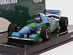 Benetton B194 Ford Winner GP Canada 1994 Michael Schumacher World Champion by MIN