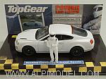 Bentley Continental Supersport 2009 Top Gear with The Stig figurine by MINICHAMPS
