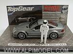 Mercedes SL65 AMG 2009 Black Series 'Top Gear' with 'The Stig' figurine by MINICHAMPS