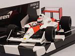 McLaren MP4/4B Honda Test Car 1988 Emanuele Pirro by MINICHAMPS