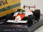 McLaren MP4/1C Ford Test Siverstone 1983 Ayrton Senna by MINICHAMPS