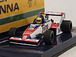 Toleman TG183B Hart #19 GP Brasil 1984 GP Debut Ayrton Senna (New Edition) by MINICHAMPS