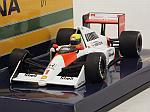 McLaren MP4/5 Honda #1 1989 Ayrton Senna (New Edition) by MINICHAMPS