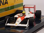 McLaren MP4/4B Honda Test Car 1988 Ayrton Senna by MINICHAMPS