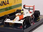 McLaren MP4/5B Honda Elevated Nose Cone Test Monza 1990 Ayrton Senna by MINICHAMPS