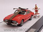 Ghia 230 S Coupe 1963 Christmas Edition by MATRIX MODELS