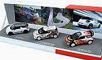 Citroen 3x DS3 Set - DS3 Racing 2012 + DS3 WRC 2011 + DS3 WRC #1 Monte Carlo 2012  (Gift Box) by NOREV