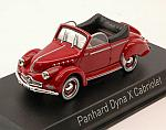 Panhard Dyna X Cabriolet 1951 (Red) by NOREV