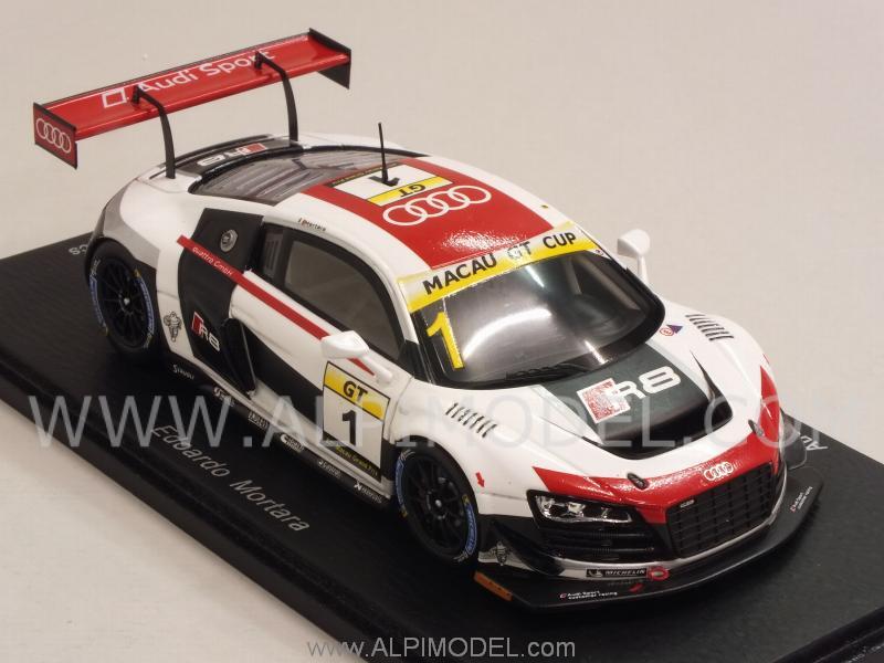 Spark Model Audi R8 Lms Ultra 1 Gp Macau Gt Cup 2014