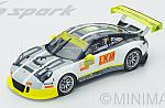 Porsche 911 GT3-R #911 Macau GT World Cup 2016 E.Bamber by SPARK MODEL