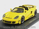 Gemballa Mirage GT 2007 (Yellow) by SPARK MODEL