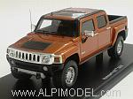 Hummer H3T 2008 (Broinze Metallic) by SPARK MODEL