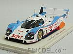 Toyota TS010 #8 Le Mans 1992 Lammers - Fabi - Wallace by SPARK MODEL