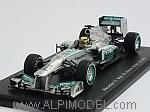 Mercedes W04 #9 Winner British GP 2013 Nico Rosberg by SPARK MODEL