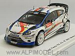 Ford Fiesta RS #8 Rally Monte Carlo 2012 Delecour - Savignoni by SPARK MODEL