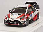 Toyota Yaris WRC #12 Winner Rally Finland 2017 Lappi - Ferm by SPARK MODEL