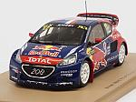 Peugeot 208 #17 Winner World RX Germany 2015 Davy Jeanney by SPARK MODEL