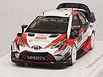 Toyota Yaris WRC #9 Rally Monte Carlo 2018 Lappi - Ferm by SPARK MODEL