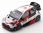 Toyota Yaris WRC #33 Winner Rally Sweden 2020 Evans - Martin by SPARK MODEL