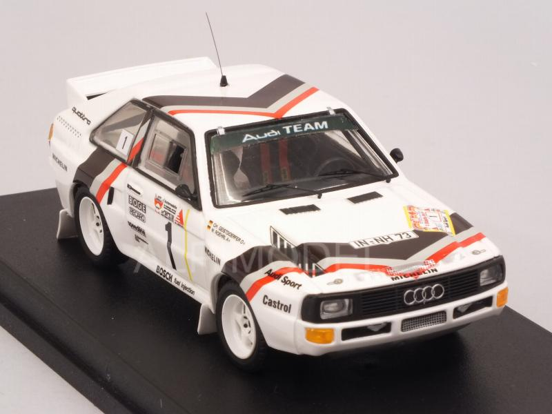 Audi Quattro #1 Winner Stadte Rally 1984 Rohrl - Geistdorfer Start Rally Version by TRF