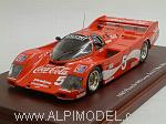 Porsche 962 Long Tail Coca Cola #5 24h Daytona 1985 Bob Atkin by TRUE SCALE MINIATURES