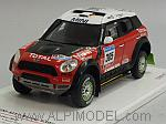 Mini ALL4 Racing Monster X-Raid Team #305 Dakar Rally 2011 Guerlain Chicherit by TRUE SCALE MINIATURES
