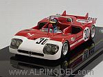 Alfa Romeo 33/3 #30 Winner 6h Watkins Glen 1971 Ronnie Peterson (with driver figure) by TRUE SCALE MINIATURES