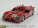 Alfa Romeo Tipo 33/3 #33 12h Sebring 1971 Rolf Stommelen by TRUE SCALE MINIATURES
