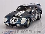 Shelby Daytona Coupe CSX2299 #15  1st GT 5.0 Class 12h Sebring 1965 Bondurant - Schlesser by TRUE SCALE MINIATURES
