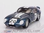 Shelby Daytona Coupe CSX2601 #20 1st GT Class 500 Km Spa 1965 Bob Bondurant by TRUE SCALE MINIATURES