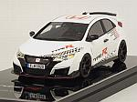 Honda Civic Type R 2016 Five European Tracks Front-wheel Drive Record by TRUE SCALE MINIATURES