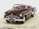 Buick Roadmaster Convertible 1949 Royal Maroon 1/43 by TRUE SCALE MINIATURES