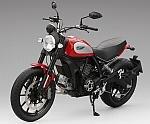 Ducati Scrambler 2015 (Rosso Ducati) by TRUE SCALE MINIATURES