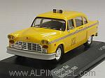 Checker Taxi Yellow Cab New York 1980 by WHITEBOX
